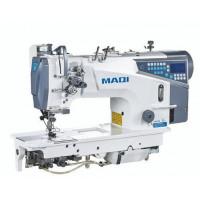 MAQI LS8750EZN-D4 промислова 2 голкова машина човникового стібка з автоматичними функціями, відключенням голок, і збільшеними човниками